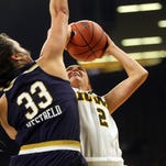 Iowa's upset bid close but not quite in loss to Notre Dame