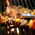 Pair lamb kebabs with earthy spices