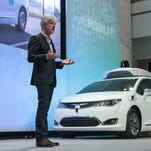 Playing catch-up, Fiat Chrysler  joins self-driving car venture with BMW, Intel, Mobileye