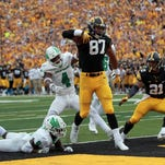 Iowa Hawkeyes ride fourth-down success to victory over North Texas