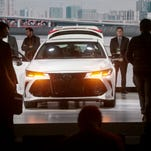 Detroit auto show: 2019 Toyota Avalon