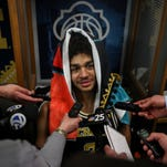 Michigan's Jordan Poole burning with determination after title loss