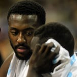 Gabe Olaseni explains his funny Twitter quirk
