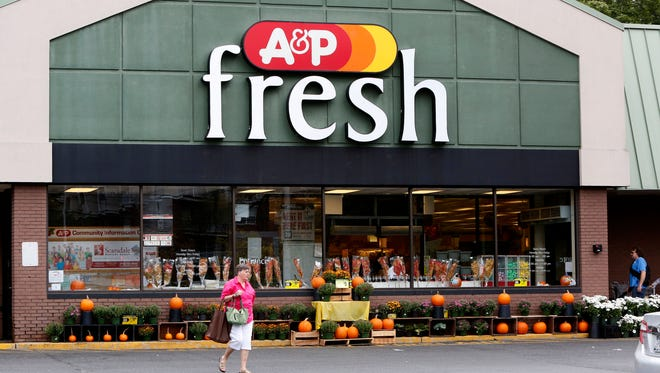 The A&P supermarket in Mamaroneck