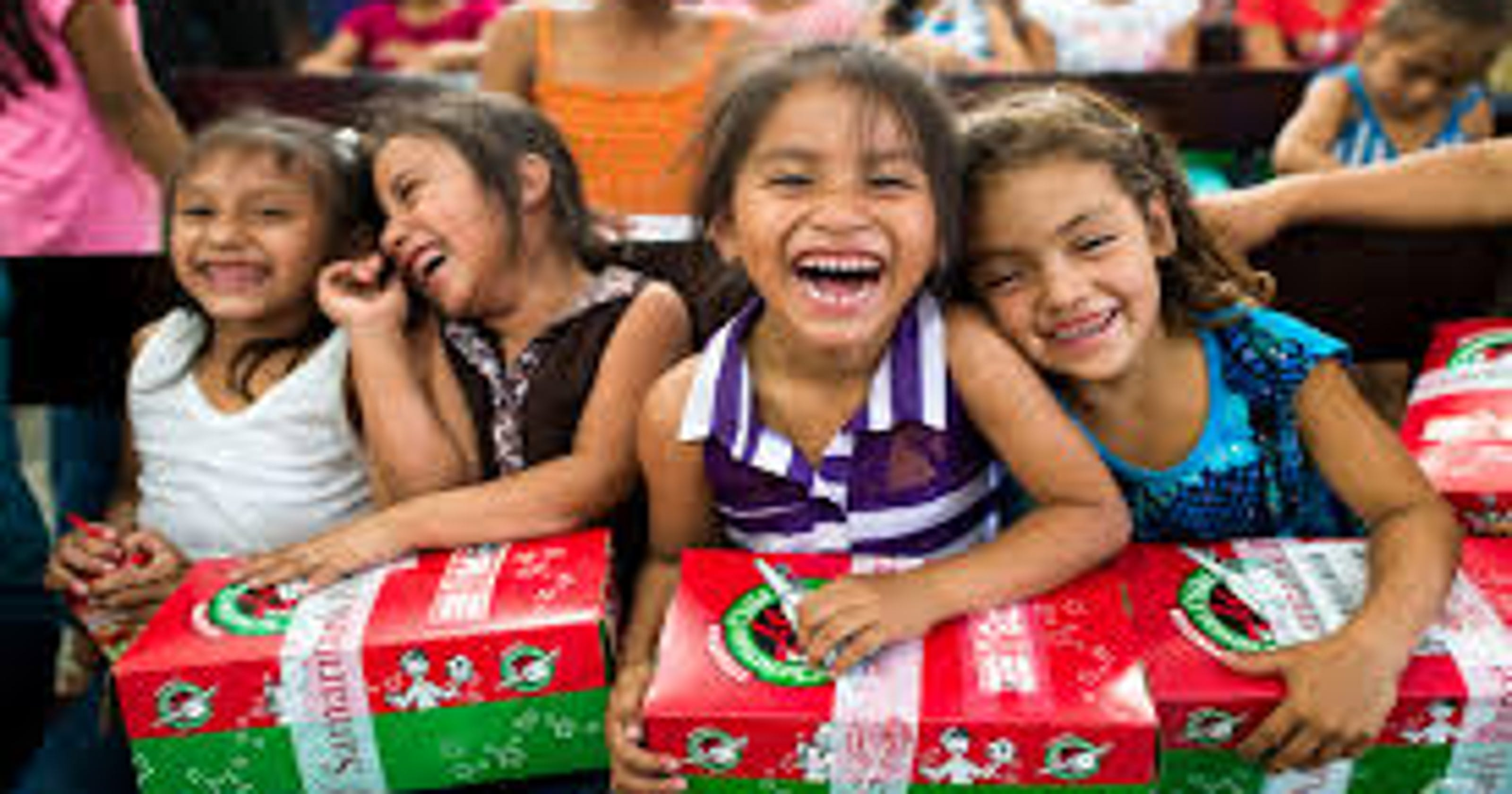 Christmas Operation Child.Ruidoso Showed Strong Support For Operation Christmas Child