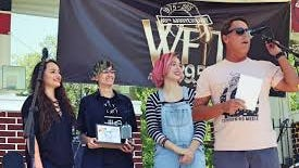 Good Luck Audrey were the winners of WFIT's 2017 Garage Band Contest.