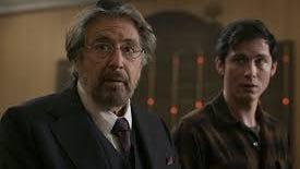 """Al Pacino and Logan Lerman star in """"Hunters."""""""