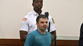 Tony Sacco during his arraignment in May 2019 in Central District Court.