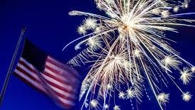 Cities and towns in the area began canceling their Fourth of July fireworks in early May, over concerns that the displays would cause the type of social gathering that spreads the coronavirus.