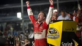 Kevin Harvick in victory lane again!, (Credit: AP/BleacherReport photo)