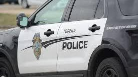 Topeka police responded late Monday to a situation in which three people were injured in a shooting and subsequent traffic crash.