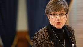 Kansas Gov. Laura Kelly issued an executive order Friday as part of her administration's response to the COVID-19 pandemic.