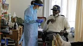 Nearly 20 percent of nursing homes report to CDC they either do not have or have less than a one-week supply of PPE, and more than half of assisted-living communities have less than a two-week supply of N-95 masks and gowns.