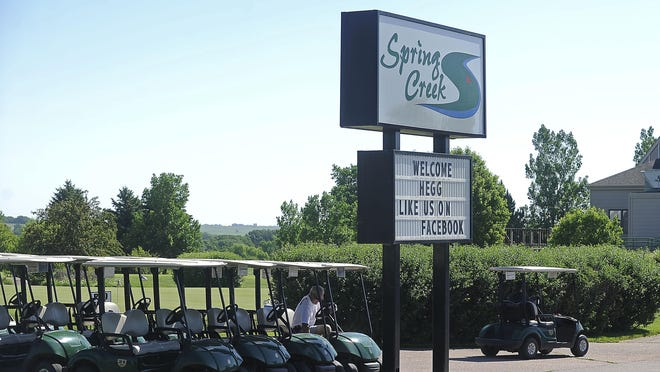 Spring Creek Golf Course Tuesday, June 9, 2015.