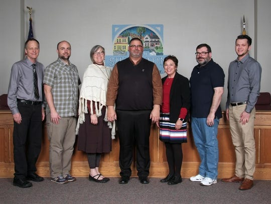 From left, Silverton City Council members Jim Sears,