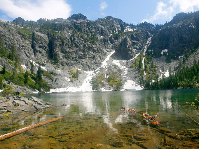 Devil's Punchbowl is in the Siskiyou Wilderness of