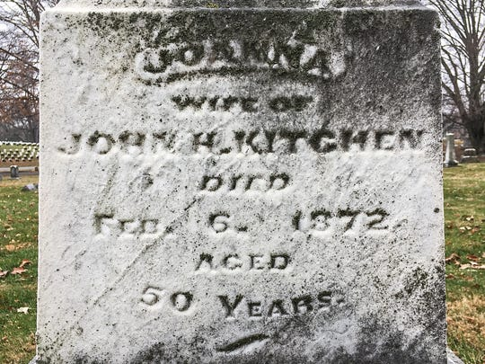 "Joanna Kitchen, known as ""The Duchess of Stringtown,"""
