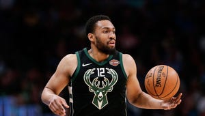 Former Milwaukee Bucks player Jabari Parker took to the streets in downtown Milwaukee on Monday to protest the death of George Floyd. Parker last played for the Bucks during the 2017-18 season.