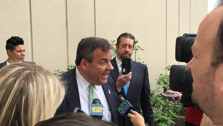 Governor's race 2017: Christie grabs a whistle