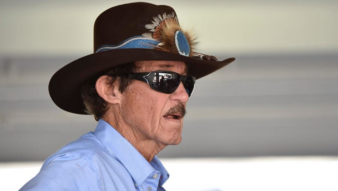 Richard Petty suffered numerous injuries during his NASCAR career, including breaking his neck twice.
