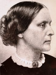 Susan B. Anthony organized the National Women's Suffrage