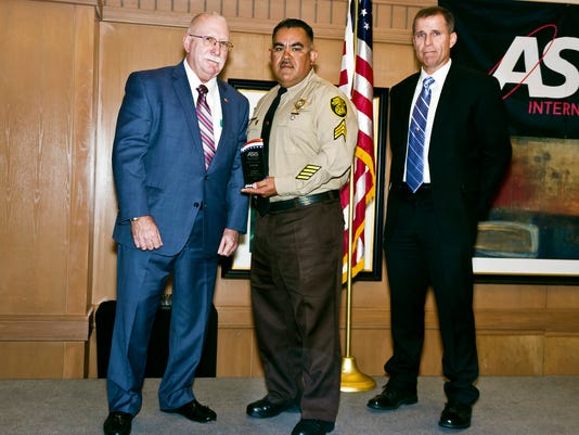 Joel Reza receives award for valor after Florence prison inmate attack