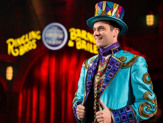 Ringmaster David Shipman and the rest of the Ringling