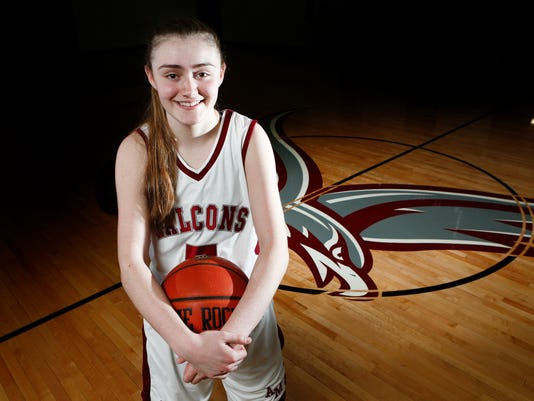 Kate Mager Rockland Girls Basketball Player of the Year