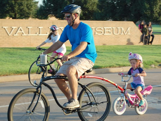 VERNON – Riders of all ages make their way down Highway