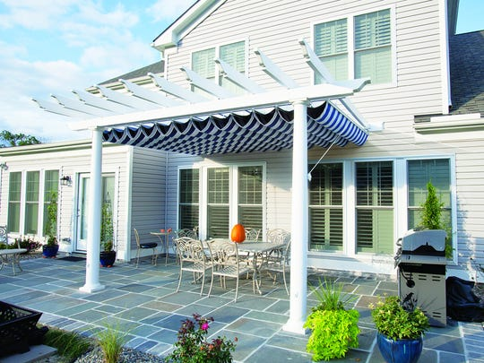 Pergolas are popular outdoor structures with columns
