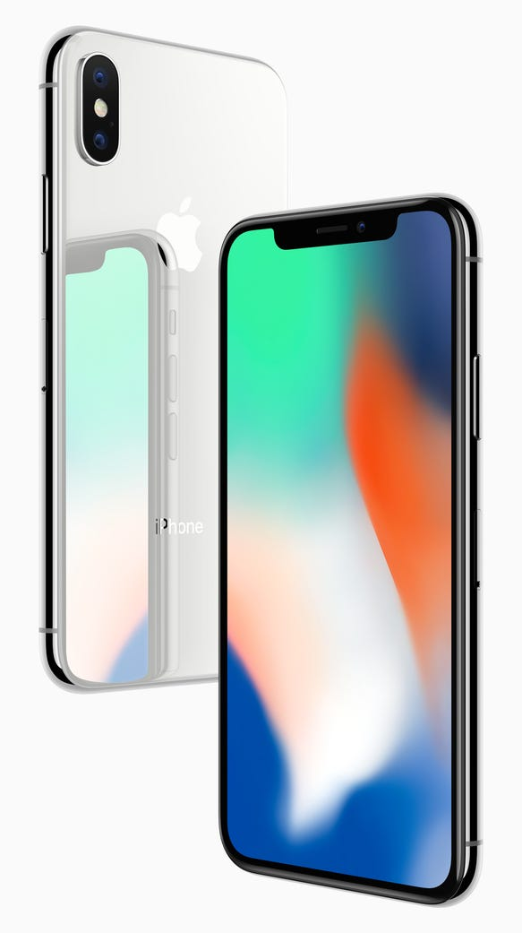 Apple's new iPhone X.