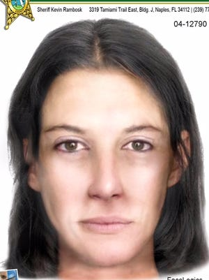 The Collier County Sheriff's Office released a composite sketch of a woman whose body was found in a wooded area in Golden Gate Estates in 2004.