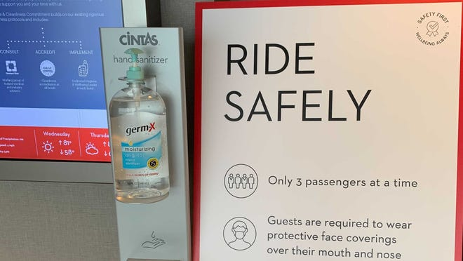Hand-sanitizing wipes, distancing, masks - staying in a hotel during the coronavirus pandemic felt generally safe.