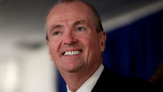 New Jersey Gov. Phil Murphy speaks before signing the first executive order of his administration in Trenton on Jan. 16.