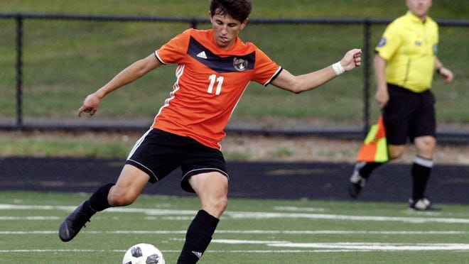 Brian Wallace, a senior midfielder and three-year starter, is expected to be among the key contributors for the Delaware Hayes boys soccer team.