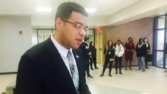 Kentucky State University Student Government President Ralph Williams