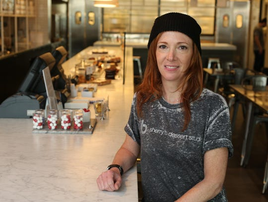 Chef/owner Sherry Blockinger is pictured at her Sherry