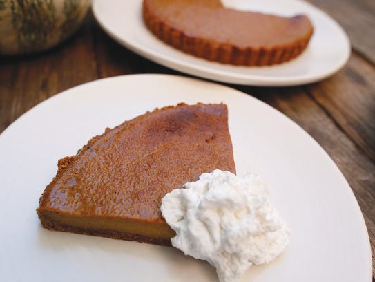The Thanksgiving exclusive squash pie at True Food