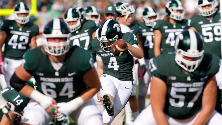Michigan State football: Starting center is ... a game-time decision