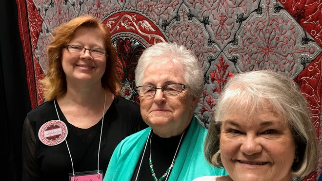The 2017 Harvest of Quilts quilt show was held at Old National Events Ballroom and the display was dazzling. Over 200 quilts were on display, one more intricate and creative than the next. Quilt makers Karen Hampton (The Joy it Brings), Bernadette Pohl (Mom's Therapy Quilt) and Sharon Hendrix (My Enchanted Garden) took home the top 3 prizes.