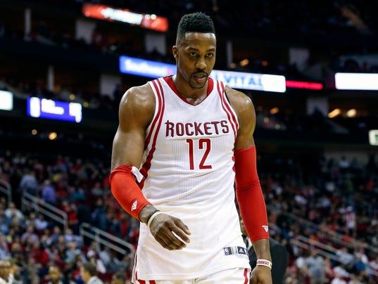 USP NBA: WASHINGTON WIZARDS AT HOUSTON ROCKETS S BKN USA TX