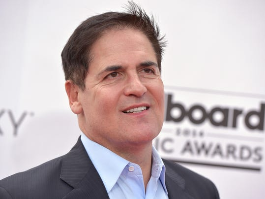 Mark Cuban arrives at the Billboard Music Awards at the MGM Grand Garden Arena on Sunday, May 18, 2014, in Las Vegas. (Photo by John Shearer/Invision/AP)