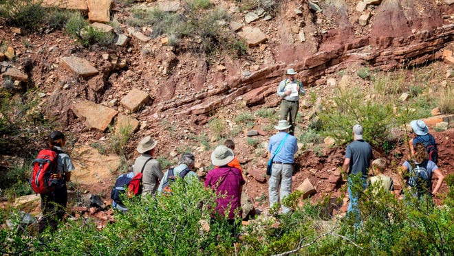 Monthly hikes sponsored by the BLM have been well attended by those eager to learn about the fascinating monument resources located northwest of Picacho Avenue and Shalem Colony Trail.