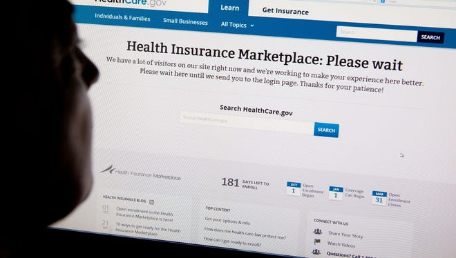 The HealthCare.gov insurance exchange site.