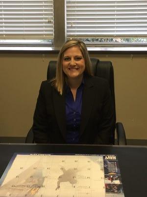 Stephanie Hughes is Lumberton High School's new principal.