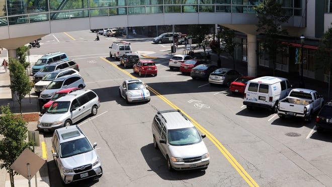 Parking spaces are at high demand downtown on Chemeketa Street NE and in the Chemeketa Parkade.