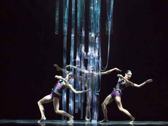 "Ballet Arizona performs ""Threads,"" choreographed by"
