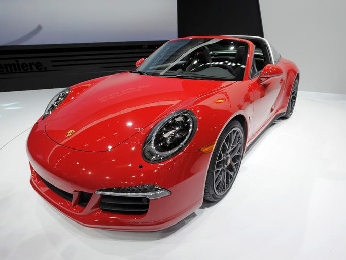 Porsche unveiled the 911 Targa 4 GTS  on Monday, Jan.