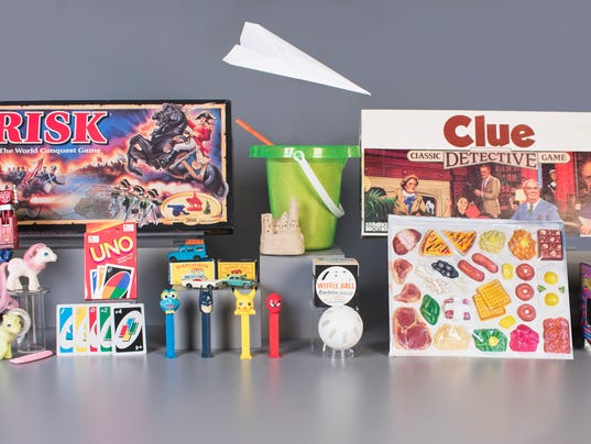 The 12 finalists for the National Toy Hall of Fame