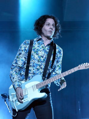 Jack White performs during the 2014 Governors Ball Music Festival in June.